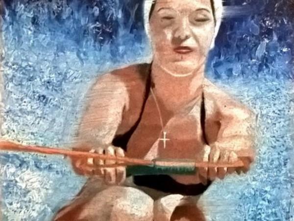 Giorgio Ferretti, Senza titolo, 2010, tecnica mista, cm. 70x50