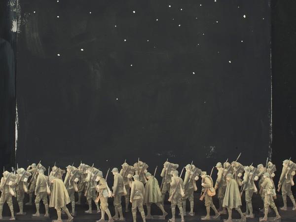 Paolo Ventura, Morte e Resurrezione 2 #07, 2018, fotografia, 42x60 cm.