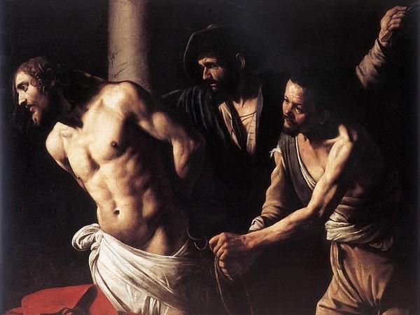 Michelangelo Merisi detto Caravaggio (Milano, 1571 - Porto Ercole, 1610), <em>Flagellazione</em>, 1607 Olio su tela, 175.5 x 134.5 cm, Rouen, Musée des Beaux-Arts | © C. Lancien, C. Loisel / Réunion des Musées Métropolitains Rouen Normandie