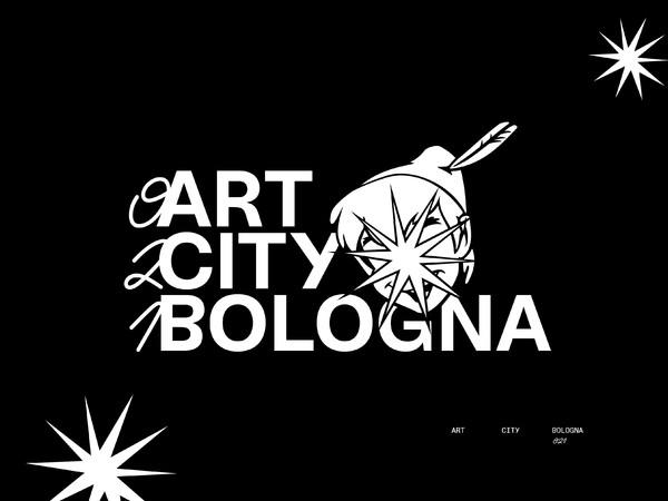 ART CITY Bologna 2021. Immagine coordinata ideata da Filippo Tappi (direttore artistico) e Marco Casella (progetto grafico)