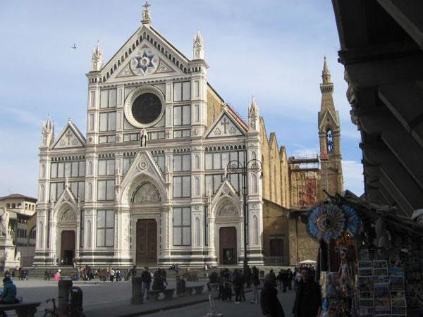 Risultati immagini per foto della Chiesa s.croce firenze