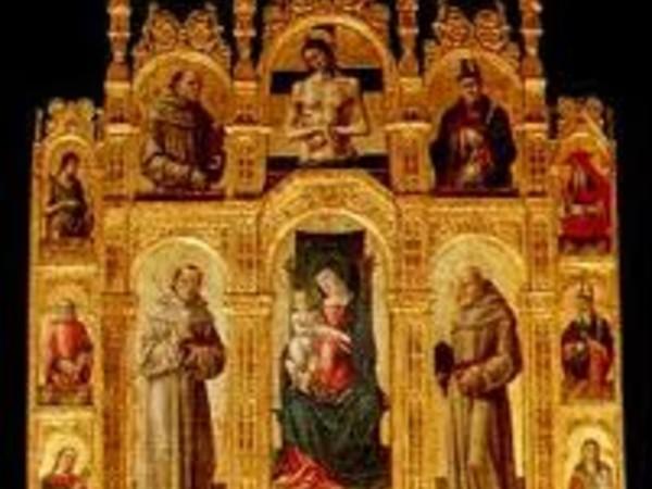 "Il polittico di Antonio Vivarini. Storia arte restauro, Pinacoteca Provinciale ""Corrado Giaquinto"", Bari"