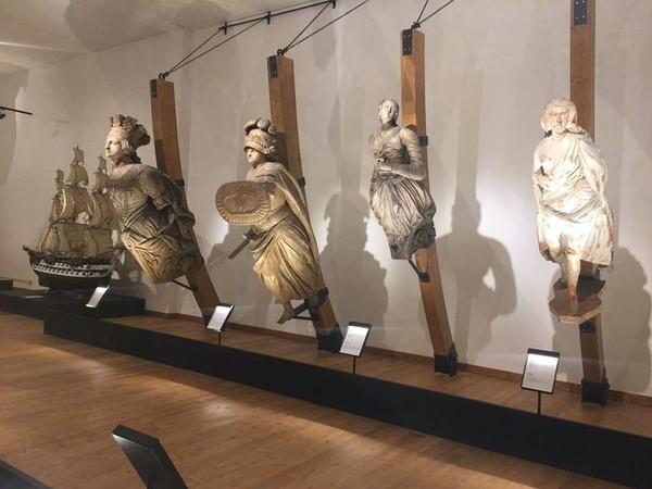 Arte, storia e mito nella nuova Sala delle Polene del Museo Navale<br />