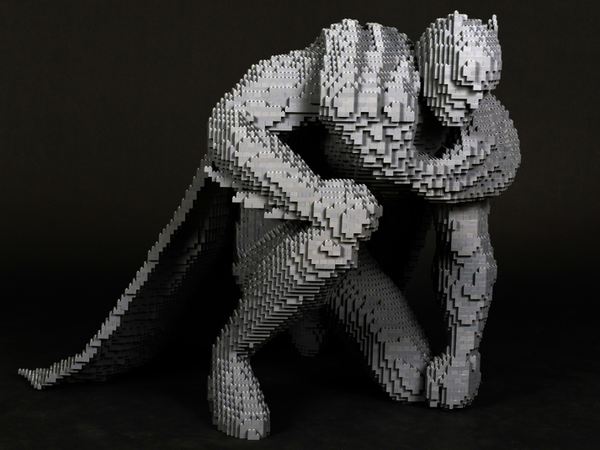 Nathan Sawaya, <em>Batman</em>, LEGO®