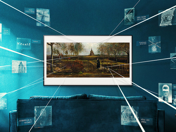 Missing Masterpieces, TV Samsung The Frame
