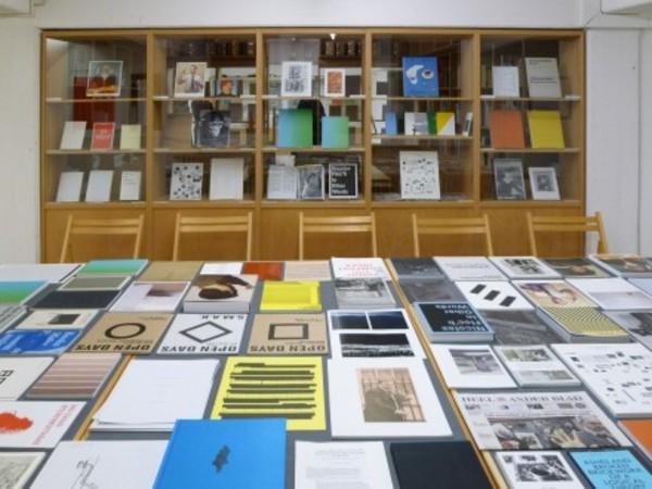 Roma Publications 1998 - 2012 installation view, Research Centre for Artists' Publications, Weserburg, Museum für Moderne Kunst, Bremen, 2012
