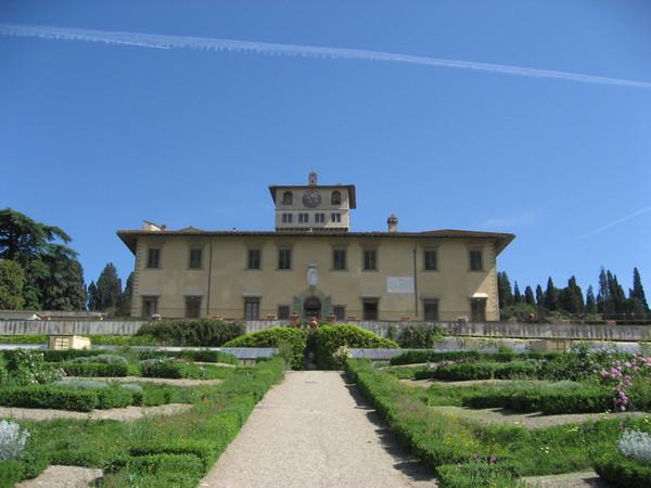 Villa medicea della petraia di firenze monumento for Villa la petraia
