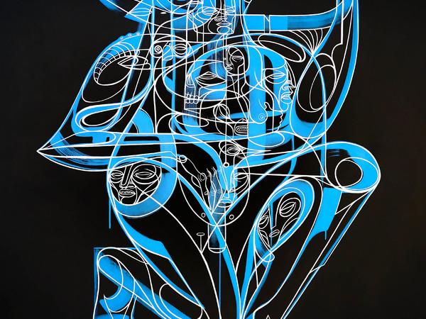 Doze Green, Jachim, mixed media on canvas, 2016
