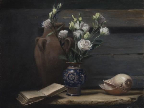 Hyde Maureen, Lisianthus, 40x50