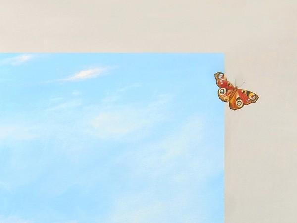 Luigi Mapelli, Eterotopia, olio su tela, 70x50 cm. (particolare)