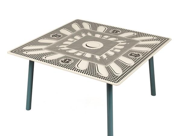 Fornasetti, Tavolo facciata quattrocentesca, 2020