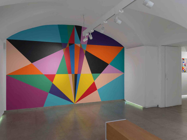 Lothar Götz, Beyond, 2021, installazione site specific