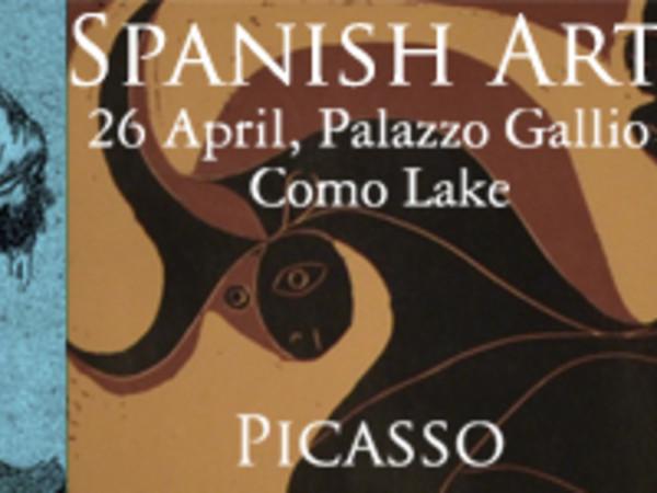 L'arte Spagnola a Palazzo Gallio: incisioni di Goya, litografie di Picasso e opere di Josè Molina