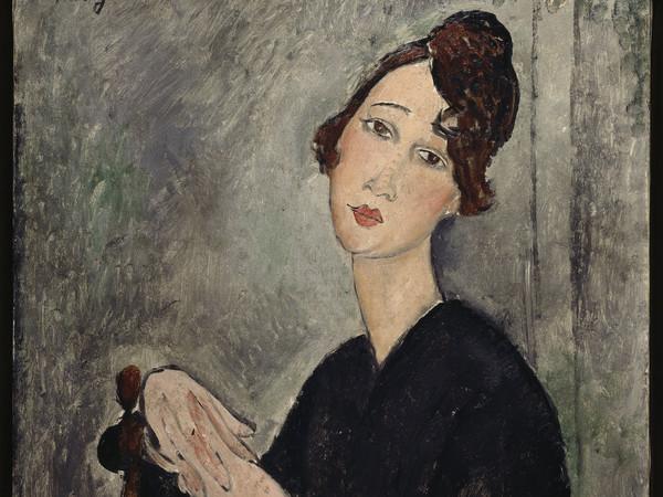 Amedeo Modigliani, Ritratto di Dèdie, 1918 Olio su tela, cm 114 × 75 Centre Pompidou, Parigi