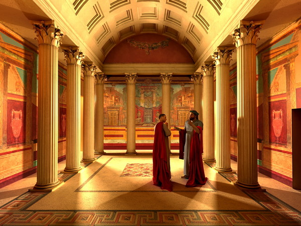 Virtual tour nell'archeologia, MAV Museo Archeologico Virtuale, Ercolano