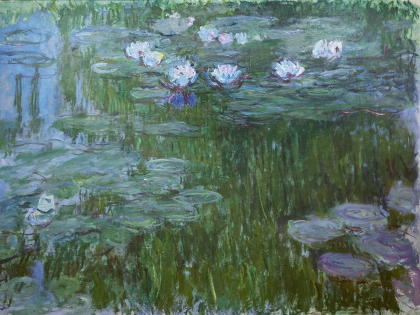 Claude Monet, Ninfee, 1914-1917 | Courtesy of Nexo Digital