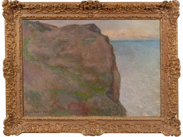Claude Monet, Falaise du Petit Ailly à Varegenville (1896-97), olio su tela 65x92 cm.