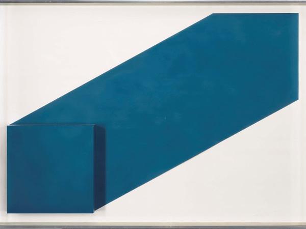 Rodolfo Aricò, Senza titolo, tecnica mista su cartoncino, 1969 ca., 72 x 101.5 x 7 cm.