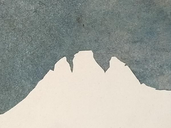 Annamaria Gelmi, Il cristallo, 2005, 20x20 cm.