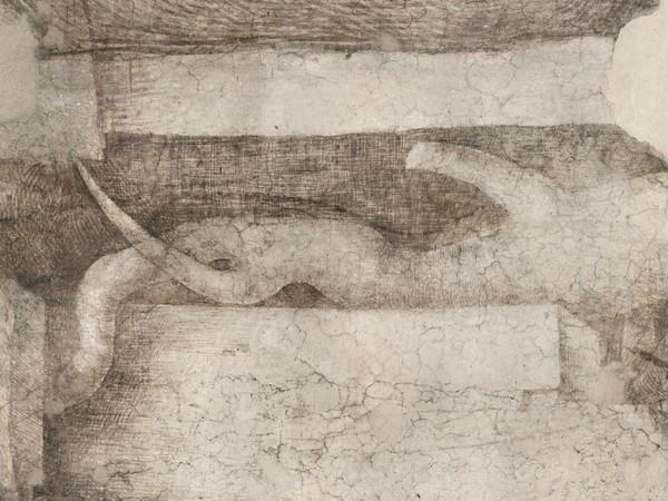 Leonardo da Vinci, <em>Decorazione pittorica della Sala delle Asse: Monocromo</em>, 1498 circa, Dipinto murale (Particolare), Milano, Castello Sforzesco