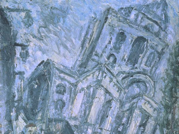 Leon Kossoff, Christ Church, Spitalfields, Morning | Foto: © Tate London | Courtesy of Chiostro del Bramante, Roma