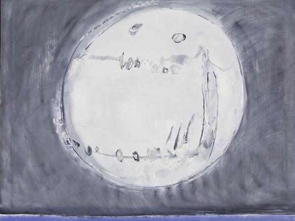 Bruno Olivi, Senza titolo, senza data, olio su tela, cm. 80x100