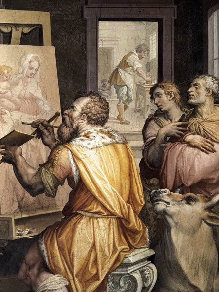 Giorgio Vasari, San Luca ritrae la Vergine