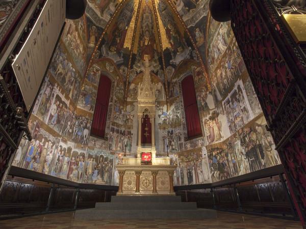 foto riapre la cappella di teodolinda nel duomo di monza