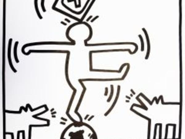 Keith Haring, Lucio Amelio, litografia