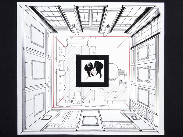 Giulio Paolini. Teoria delle apparenze Galleria Fumagalli Milano mostre 2018