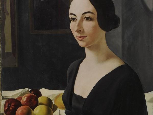 Felice Casorati, Ritratto di Hena Rigotti, 1924. GAM, Torino
