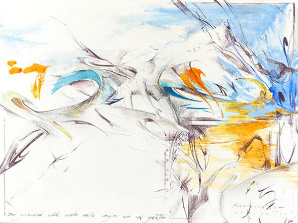 Frode, Fuerteventura, 2007, acquerello su carta, 29,7x21cm