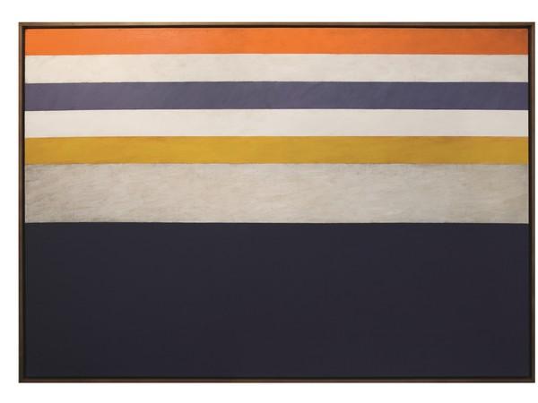 Claudio Verna, Pittura, olio su tela, 90x130