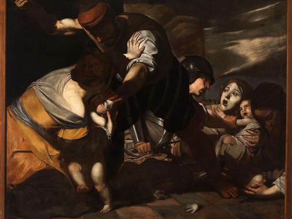 Massimo Stanzione, La Strage degli Innocenti, 1630. Collezione UBI Banca, Galleria Nazionale di Palazzo Arnone a Cosenza