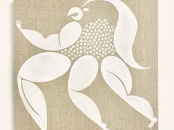 Giovanni Garcia-Fenech, Amabie, 2020, acrylic on linen, 30.5 x 30.5 cm, $1,500
