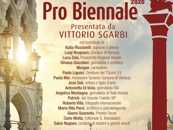 Pro Biennale 2020, Venezia
