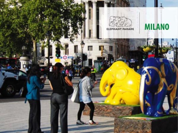 Elephant parade milano mostra milano palazzo reale for Design parade milano