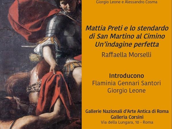 Mattia Preti. Lo stendardo di San Martino al Cimino