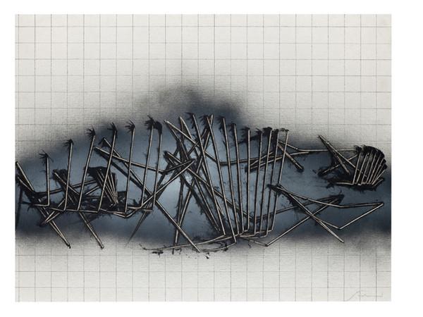 Emilio Scanavino, Immagine, 1984, olio su tela, cm 89 x 116