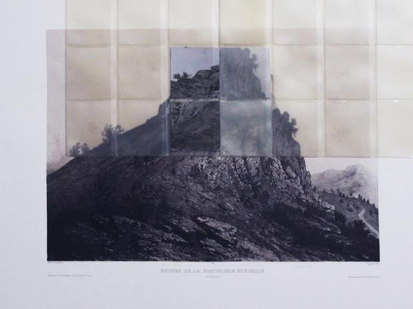 Raffaele Quida, Frame 15m12s 2019, 50x70 cm, stampa e fogli acetati su incisione