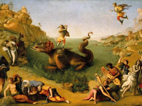 Piero di Cosimo, Andromeda liberata da Perseo, 1510. Firenze, Galleria degli Uffizi