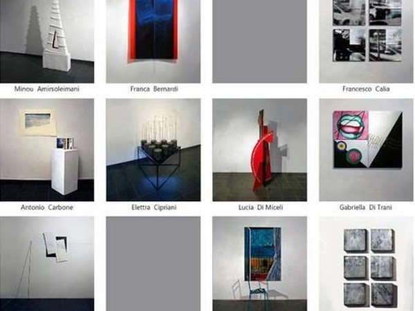 Differenti gradi di percezione, Pinacoteca Comunale D'arte Contemporanea, Gaeta