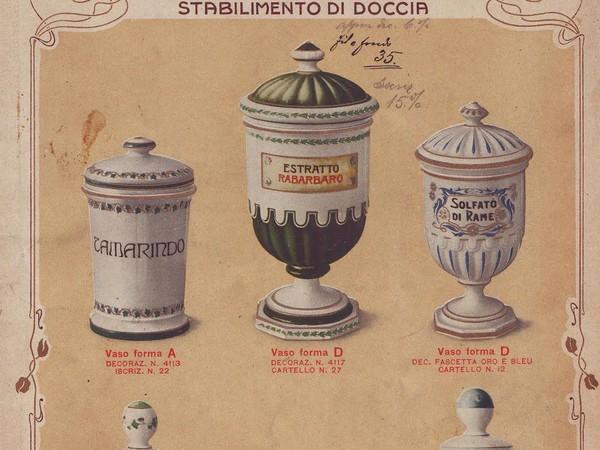 Società Ceramica Richard-Minori - Milano, Stabilimento di Doccia. Locandina