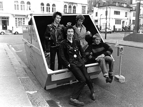 Janette Beckman, Sex Pistols, 1977