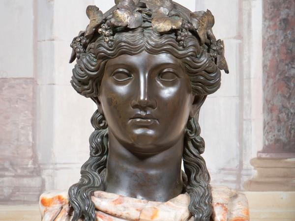 Luigi Valadier, Erma di Bacco, 1773, bronzo e alabastro a rosa, altezza 175 cm. Galleria Borghese, Roma