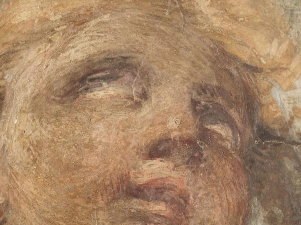 Antonio Allegri detto Il Correggio, Testa di cherubino, particolare I Ph. Mauro Ranzani
