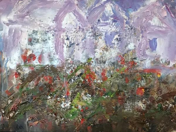 Lucia Fantoni, Sogno, 2013, cm. 53x73, acrilico e gesso su tela