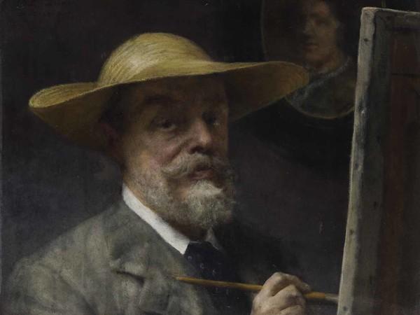 Lawrence Alma Tadema, Autoritratto, 1907-1912, Olio su tela, 61.5 x 45.5 cm