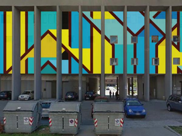 Without Frontiers, Rendering dell'opera di Joy, Tsunamy per Lunetta a colori - Capitolo III, Mantova