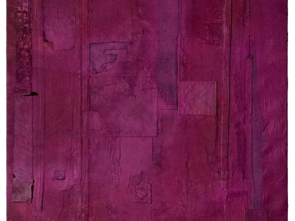 """<span>Luca Pignatelli, """"L.P./317"""", tecnica mista su tela</span>"""